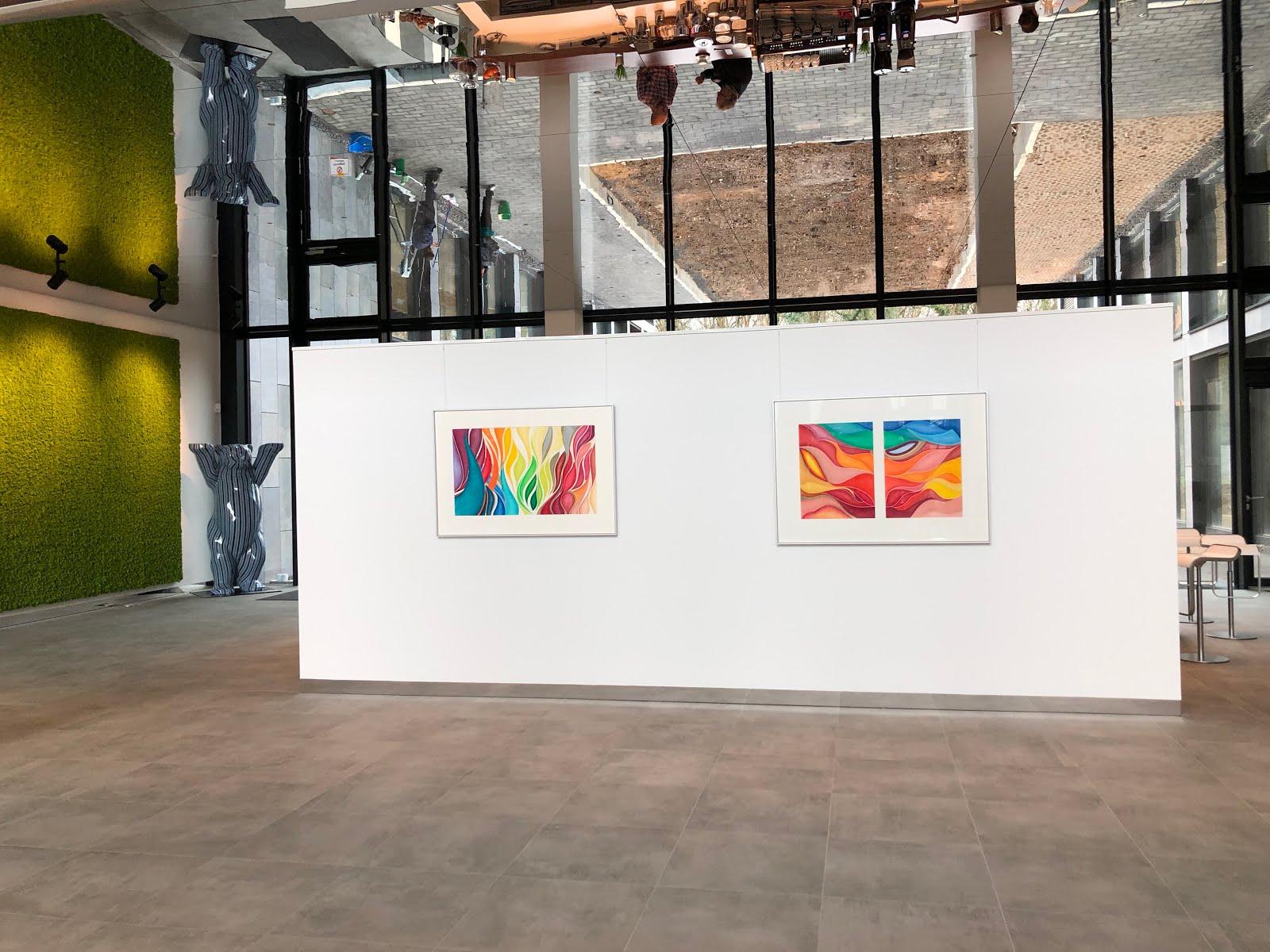 Ausstellung bei Computacenter in Kerpen - 2019