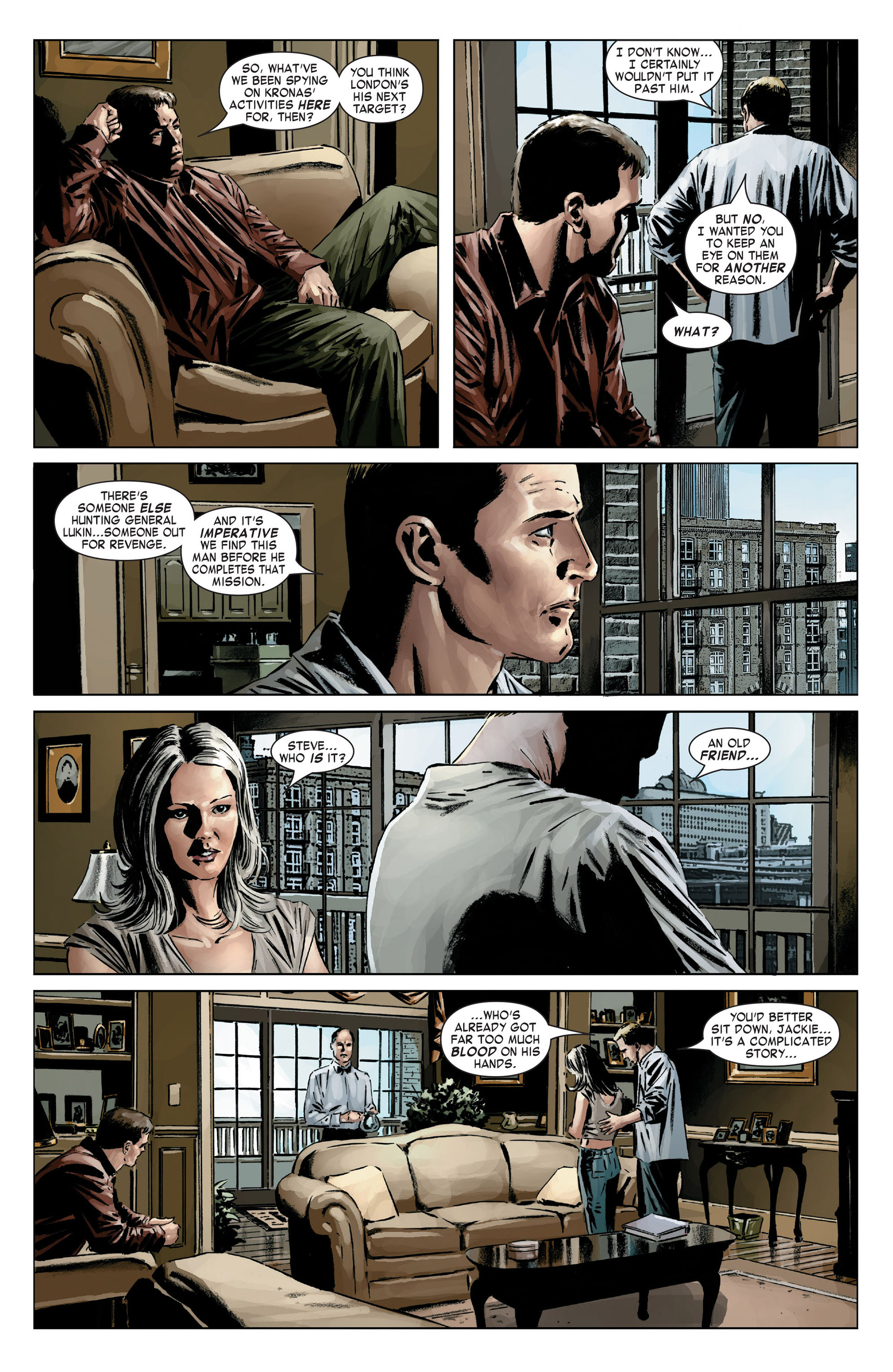Captain America (2005) Issue #18 #18 - English 9
