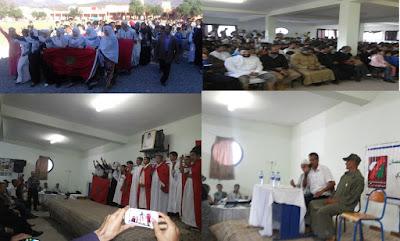 ثانوية محمد الجزولي نيابة تيزنيت تخلد ذكرى المسيرة الخضراء و عيد الاستقلال المجيد
