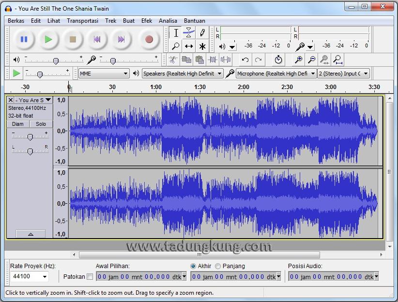 Kemudian pilih Effect ⇨ Vocal Remover (for centered-panned vocal ...