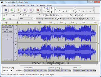 Kemudian pilih Effect ⇨ Vocal Remover (for centered-panned vocal