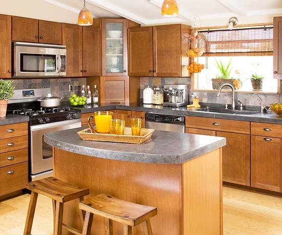 New home interior design update your kitchen on a budget for Small kitchen updates on a budget