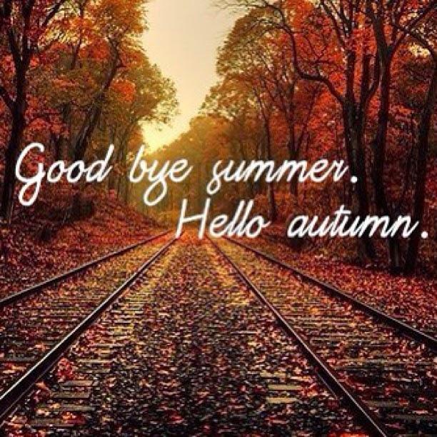 My world : Adiós verano. Hola otoño.