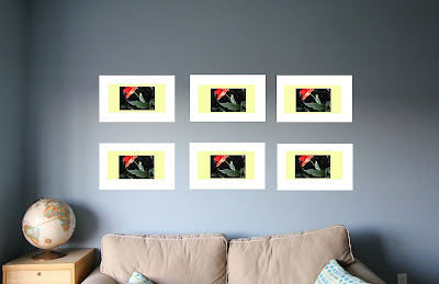 gallery wall - photoshop