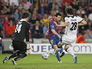 Fotos de Messi frente al Viktoria Plzen