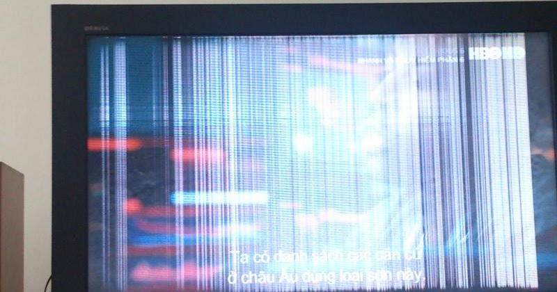 Sửa tivi samsung bị kẻ dọc màn hình,Sửa chữa màn hình tivi samsung tại hưng yên