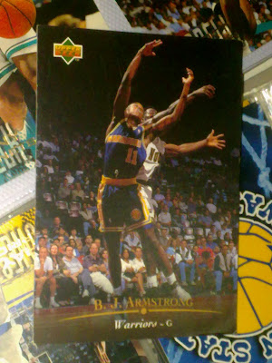 armstrong,nba,nba card,fleer