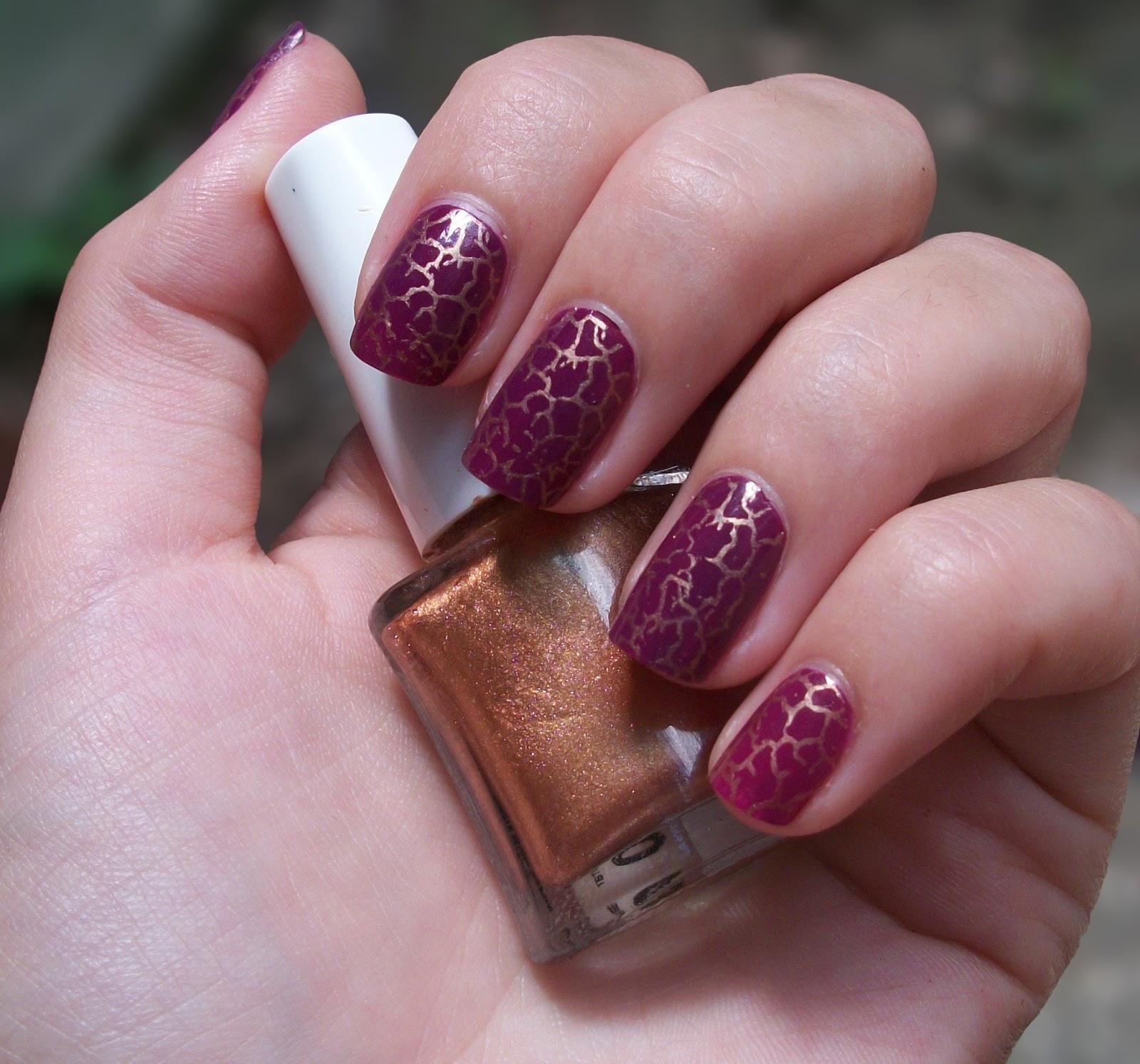 Кракелюр на ногтях фольгой: фото, особенности техники 19