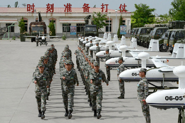 Chinese edition of the same report, those An-209 tactical UAVs are organic to artillery regiments for reconnaissance and target positioning purposes.