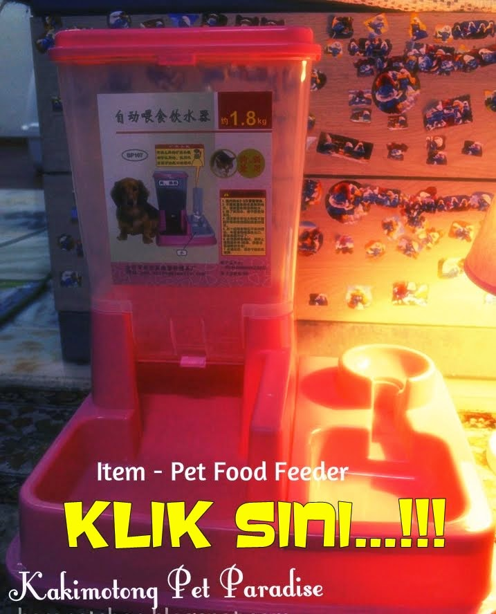UNTUK DIJUAL : Bekas Makanan Kucing