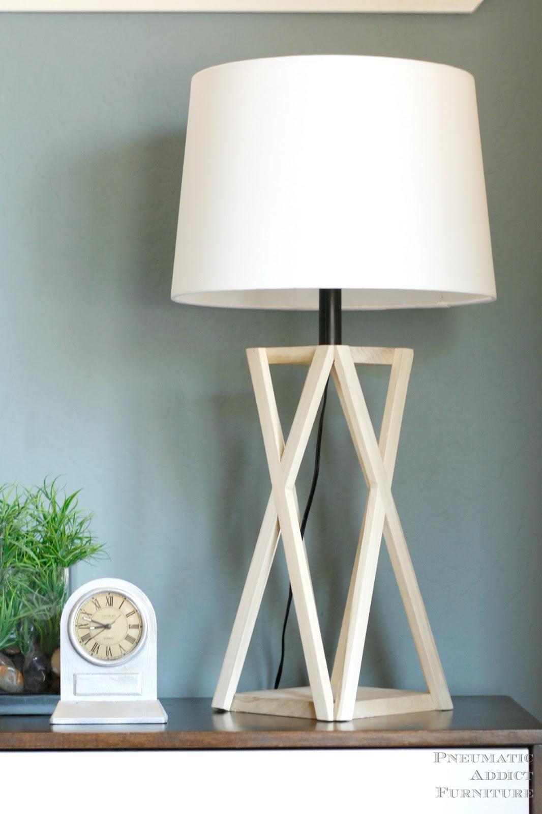 Pneumatic Addict : DIY Tapered-X Lamp