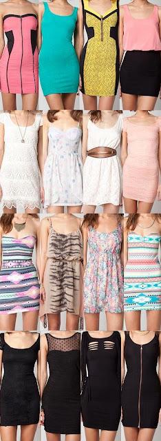 coleccion entera de vestidos de noche
