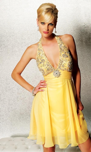 Wedding dresses gallery yellow formal dress