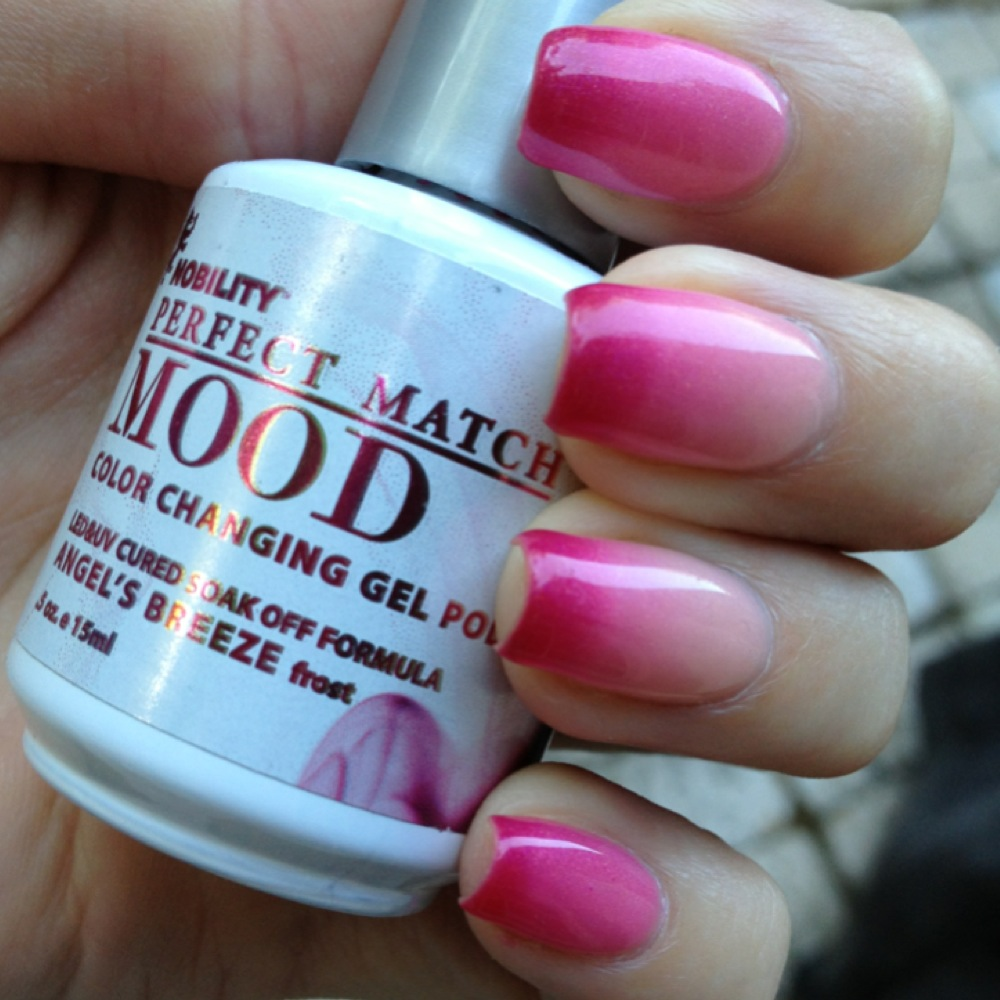 Lechat Mood Color Changing Gel Polish: Angel\'s Breeze ...