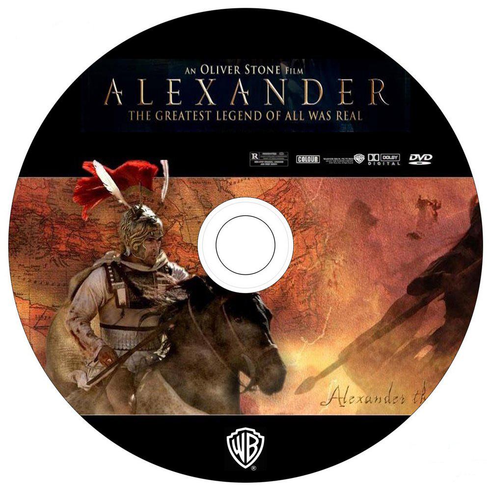 alexander-movie-dvd-label-art