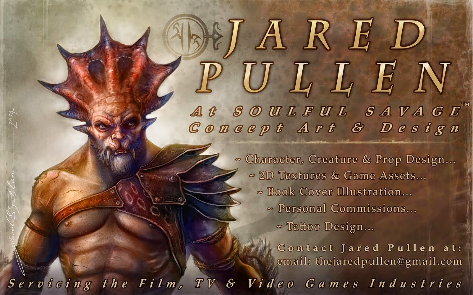 Jared Pullen Soulful Savage Concept Art & Design