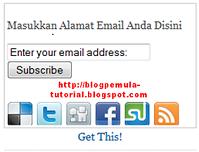 kotak berlangganan, subscribe box, RSS, Atom