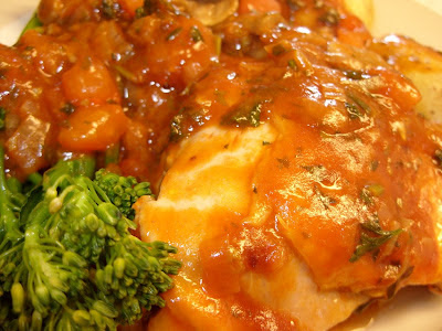 Rhubarb & Ginger: Marco Pierre White's Chicken Chasseur ... oh dear ...