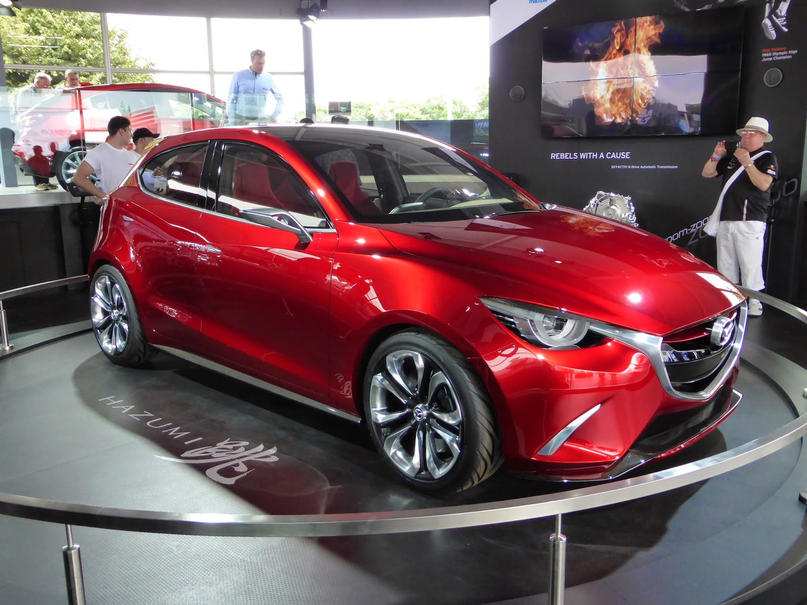 The Mazda Hazumi is a concept. If it makes it to production it'll be a hit