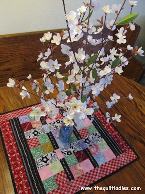 How to make a Valentine's Quilt