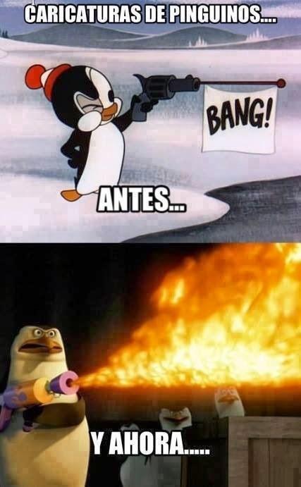 Caricaturas de Pinguinos