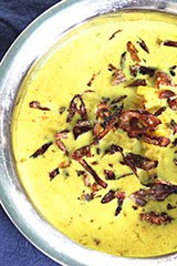 Turmeric, Cauliflower, Coconut Milk Soup w/ Crispy Fried Shallots