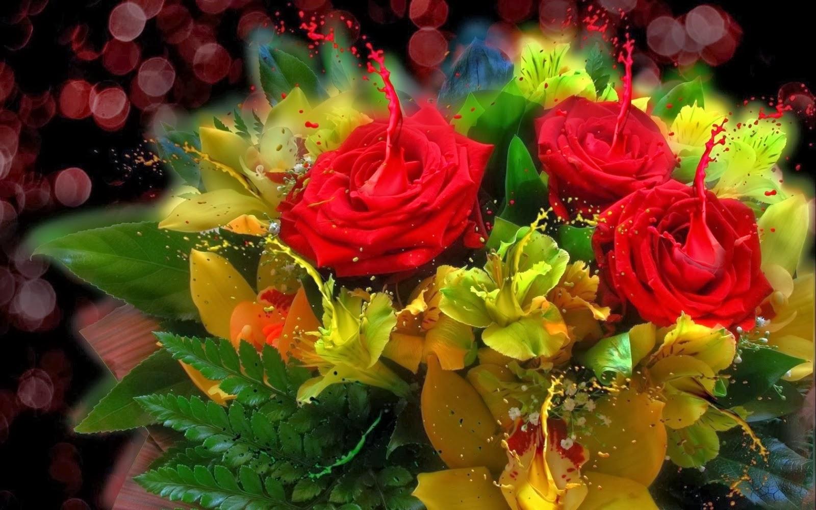 Fotos de ramo de rosas y flores fotos bonitas de amor im genes bonitas de amor - Ramos de flores hermosas ...
