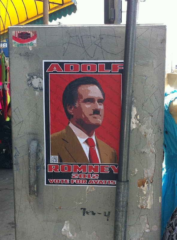 Mitt Romney as Adolf Hitler