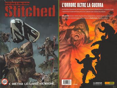 Stitched 1 - Dietro le linee nemiche (1a e 4a di copertina)