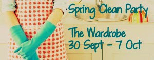 Spring Clean at The Wardrobe