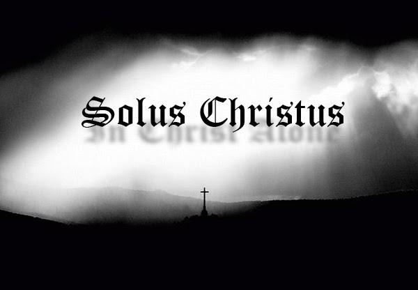 Afbeeldingsresultaat voor christ alone