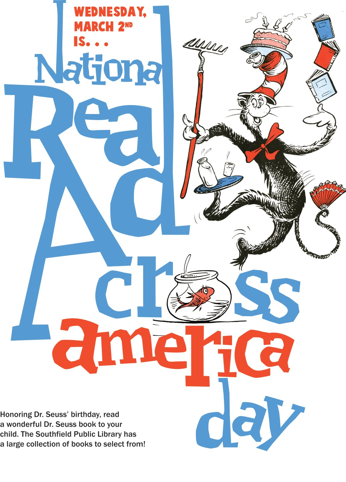 Sherrie Savage: READ ACROSS AMERICA