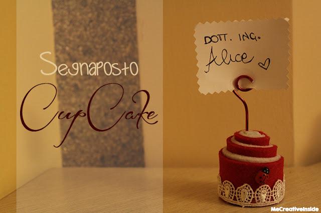tutorial diy Segnaposto o Portafoto a forma di cup-cake ME creativeinside