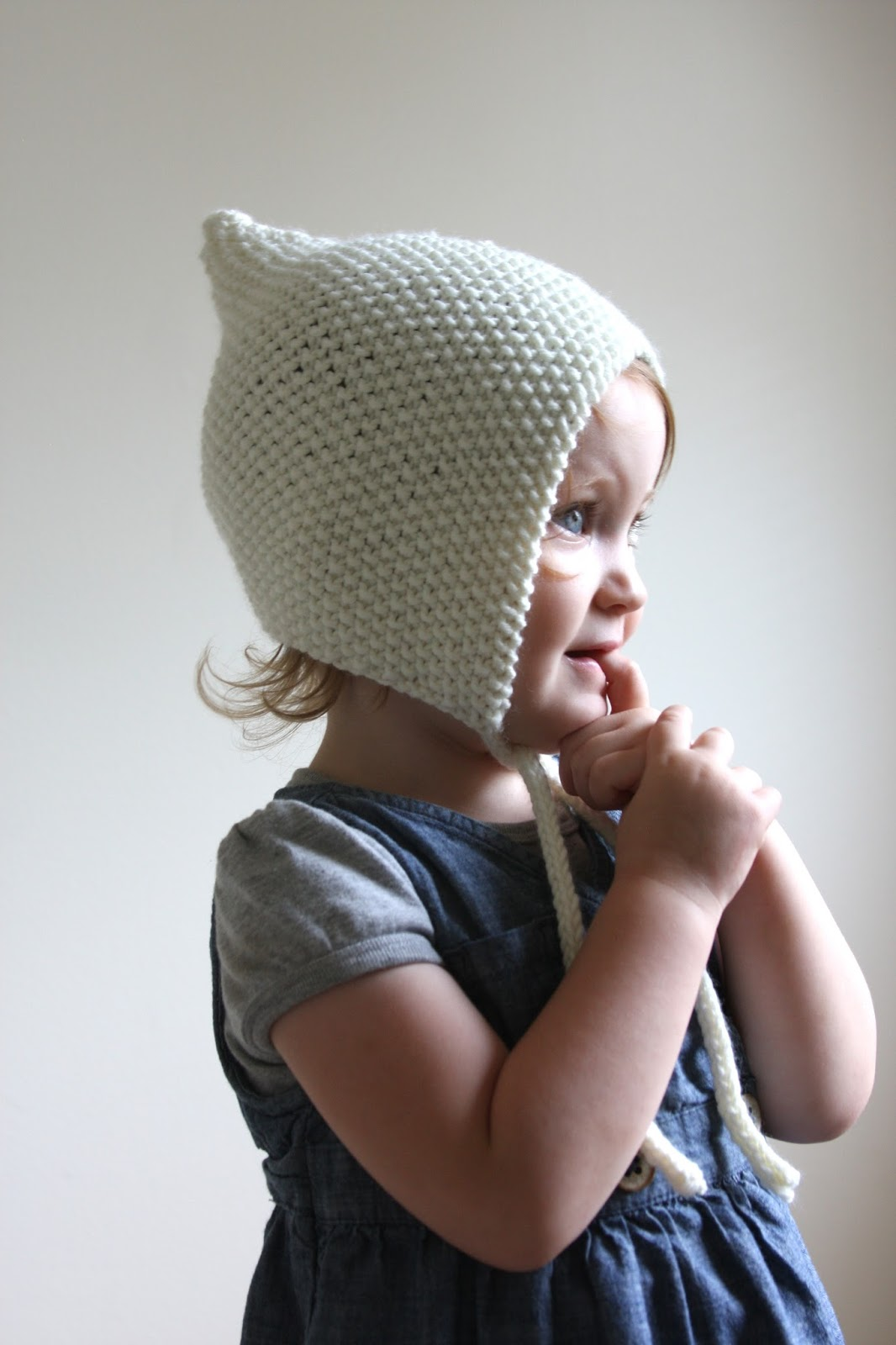 Baby Bonnet Knitting Pattern : Funky Fresh Fraziers: Baby and Toddler Hat Knitting Patterns