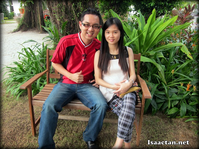 Isaactan.net and Janice Soon at Hard ROck Hotel Penang
