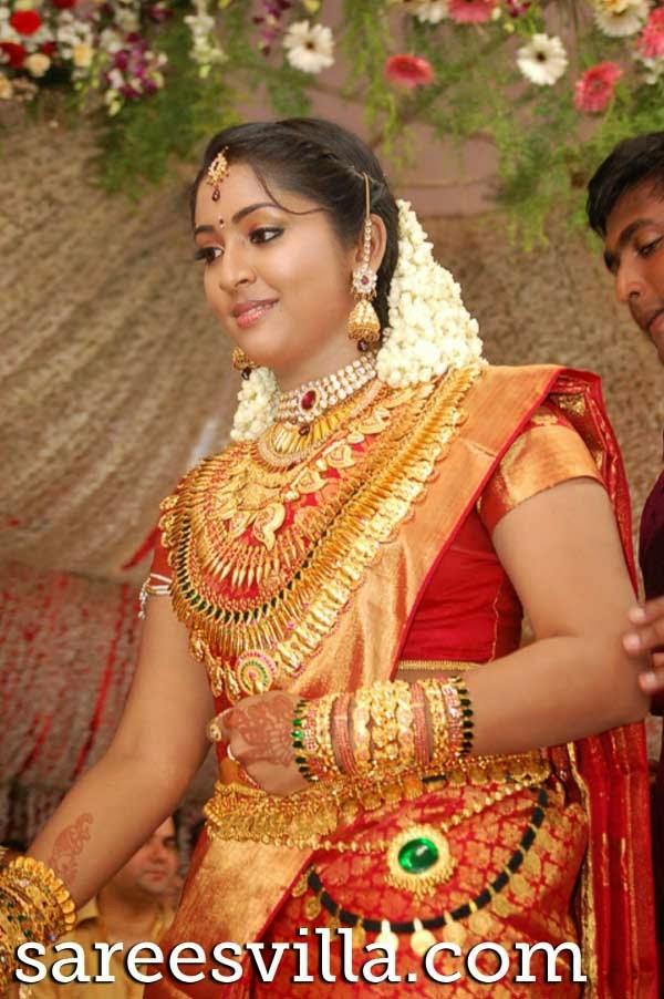 south indian brides sarees villa