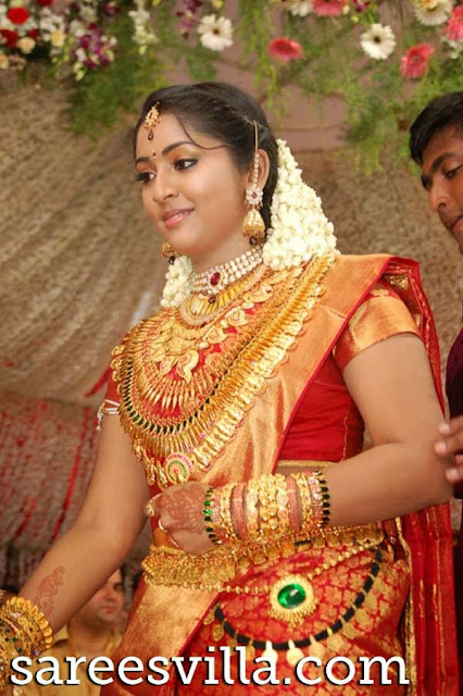 south indian brides sarees villa