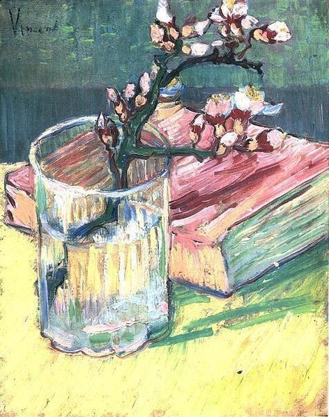 Blossoming Almond Branch in a Glass (1888)