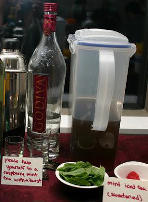 Godive Chocolate Raspberry Vodka
