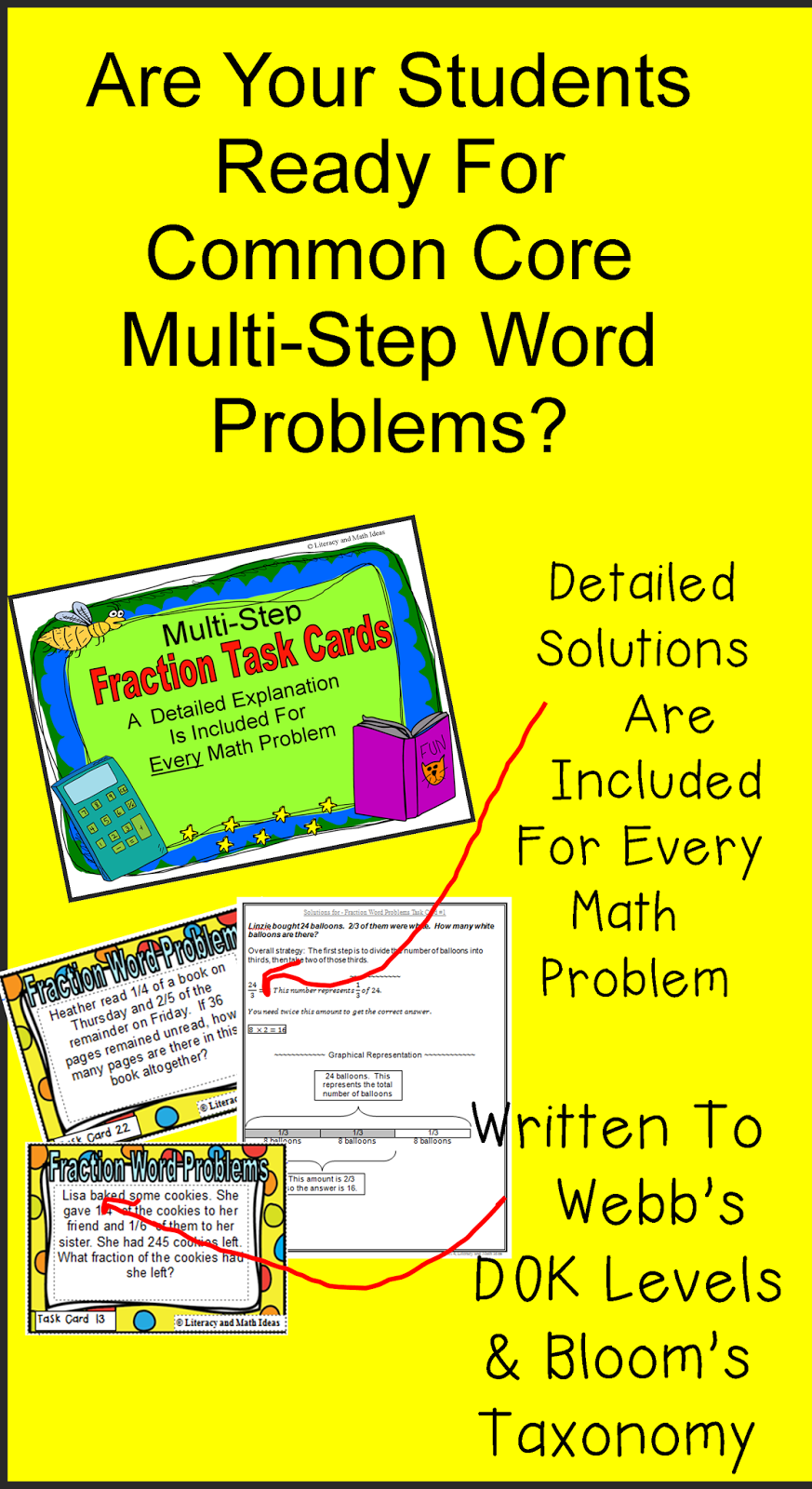 Middle School Rush: Multi-Step Math Questions