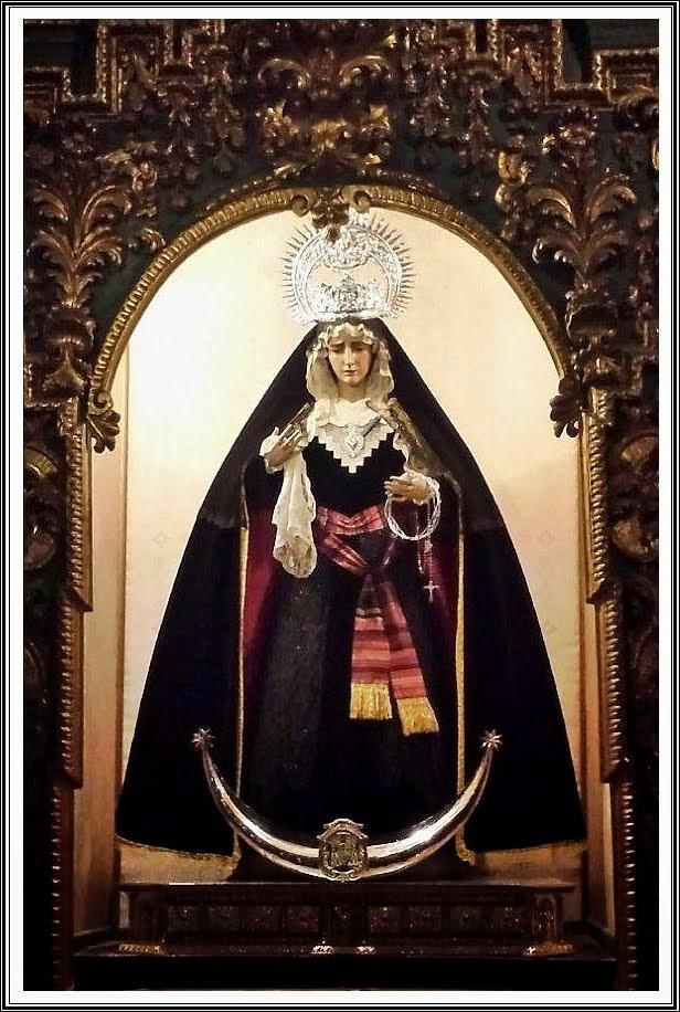 María Santísima de la Encarnación - Luto 2014