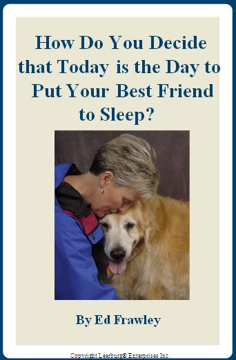 When To Decide To Have Your Dog Put To Sleep