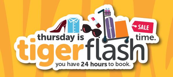 虎航「Tiger Flash」香港 飛 新加坡 HK$852起 / 澳門 飛 新加坡 HK$1,171起(已連稅)!