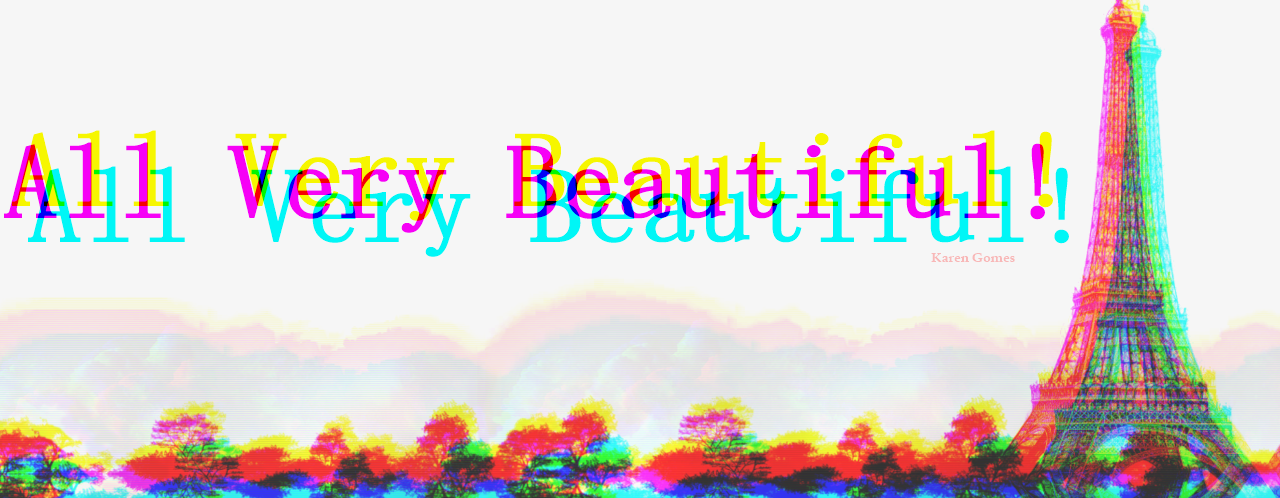 Tudo muito Lindo !