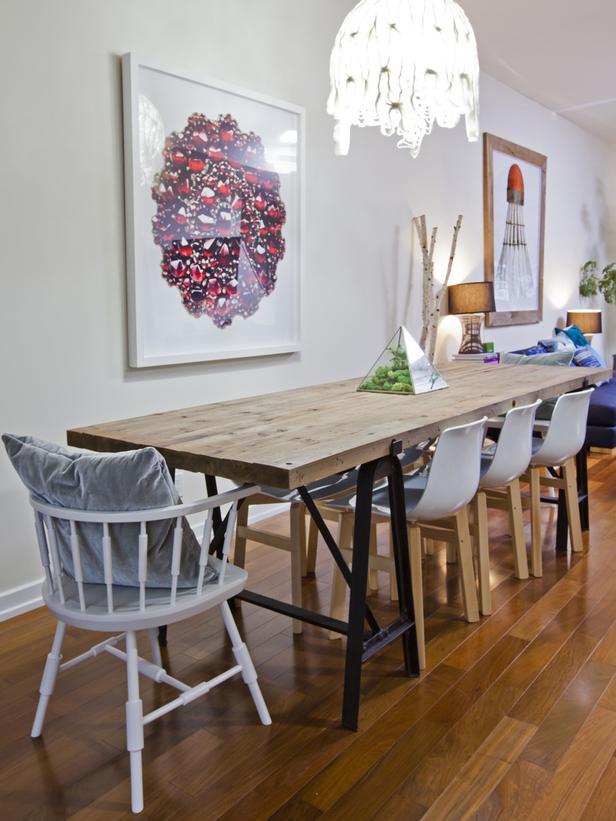 Sala de jantar moderna 8