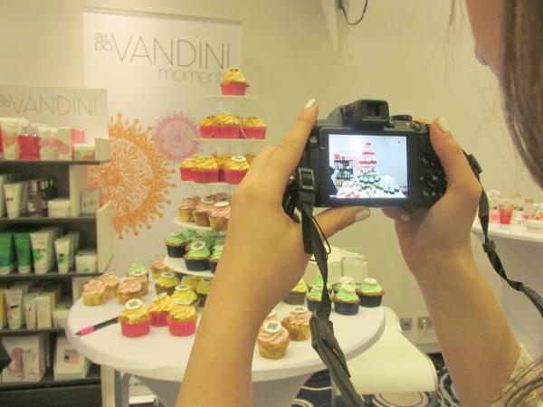 Beautypress Blogger Event Mai 2014 Aldo Vandini Cupcakes
