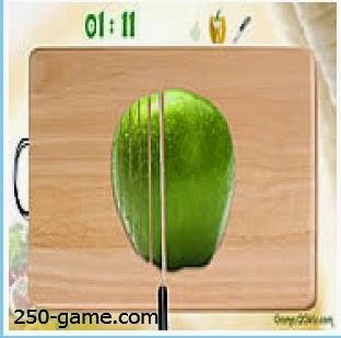 لعبة عمل سلطه الفواكه