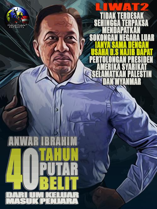 Kronologi 40 Tahun AnwarIbrahim Putar Belit Dari UM Sehingga Keluar Masuk Penjara