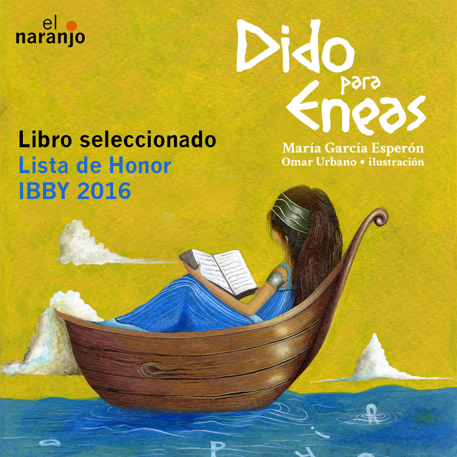 Dido para Eneas en la Lista de HOnor IBBY 2016