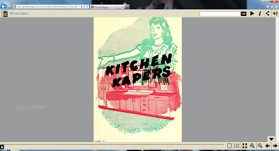 Kitchen kapers one-page view